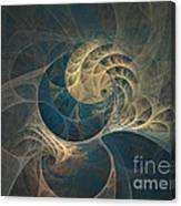 Chocolate Dream - Abstract Art Canvas Print