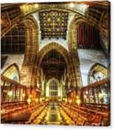 Choir Section Vertorama Canvas Print