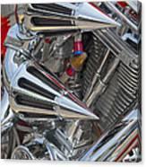 Chopper Engine-2 Canvas Print