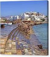 Chora Naxos Canvas Print
