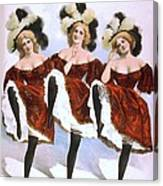 Chorus Girls Emerged As An Important Canvas Print