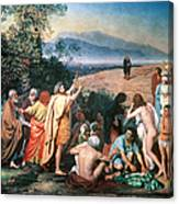 Christ Appears Canvas Print