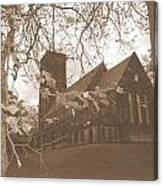 Christ Church Leeds Canvas Print