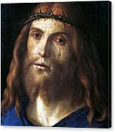 Christ Crowned With Thorns Canvas Print