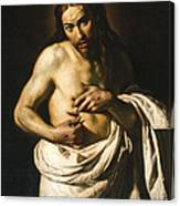Christ Displaying His Wounds Canvas Print