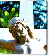 Christ In Spring Canvas Print