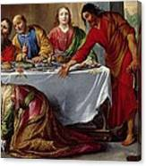 Christ In The House Of Simon The Pharisee Canvas Print
