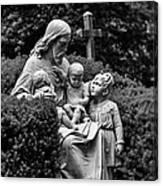 Christ With Children Canvas Print