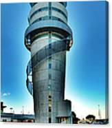 Christchurch Airport's Control Tower Canvas Print