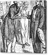 Christian Sch�nbein Canvas Print