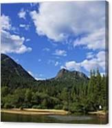 Christina Lake - North End Of The Lake Canvas Print