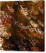 Christmas Card - The Manger Canvas Print