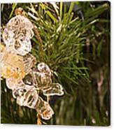 Christmas Crystal Angel 1 B Canvas Print