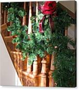 Christmas Garland Canvas Print
