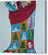 Christmas Sock Canvas Print