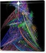 Christmas Tree 49b Star Canvas Print