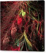 Christmas Tree 72 Canvas Print