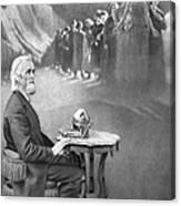 Christopher Sholes, American Inventor Canvas Print
