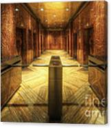 Chrysler Building Elevator Lobby Canvas Print