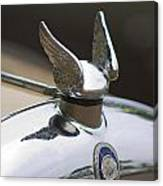Chrysler Hood Ornament 2 Canvas Print