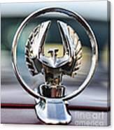 Chrysler Imperial Hood Ornament Canvas Print