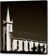Church In Bodega Bay Canvas Print
