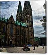Church in Bremen Germany 2 Canvas Print