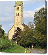 Church In Meersburg Germany Canvas Print