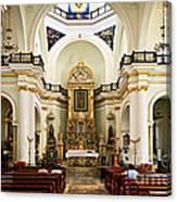 Church Interior In Puerto Vallarta Canvas Print