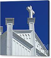 Church Key West Florida Canvas Print