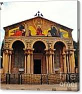 Church Of All Nations  Canvas Print