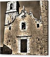 Church Of The Virgen De La Ermitana - Peniscola  Canvas Print