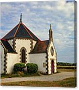 Church Off The Brittany Coast Canvas Print