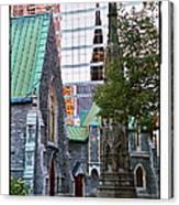 Church Reflections Canvas Print