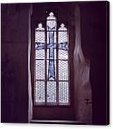 Church Stained Glass Window 2 Canvas Print