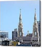 Church Top San Francisco Canvas Print