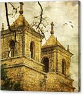 Church Towers Canvas Print