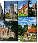 Churches Of Hillingdon Canvas Print