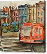 Cincinnati Streetcar Canvas Print