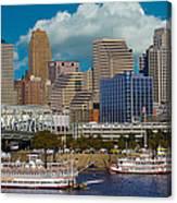 Cincinnati Tall Stacks  Canvas Print
