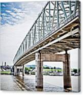 Cincinnati Taylor Southgate Bridge Canvas Print
