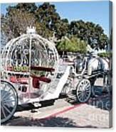 Cinderella Carriage Canvas Print
