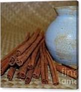 Cinnamon Jar Canvas Print