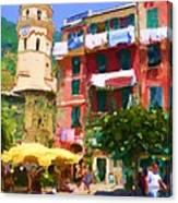 Cinque Terre Village Canvas Print