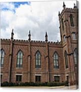 Circa 1818 Gothic 1st Presbyterian Church Huntsville Alabama Usa Canvas Print