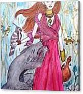Circe The Sorceress Canvas Print