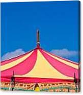 Circus Tent Top  Canvas Print