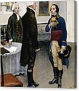 Citizen Gen�t, 1793 Canvas Print
