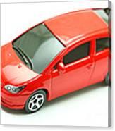 Citroen C4 Model Car Canvas Print