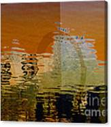 City Abstract Canvas Print
